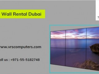 Commercial LED Video Wall Rental Services in Dubai