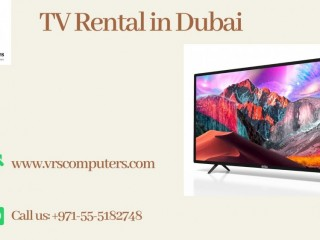 Hire Latest TV Rental Services Across the UAE