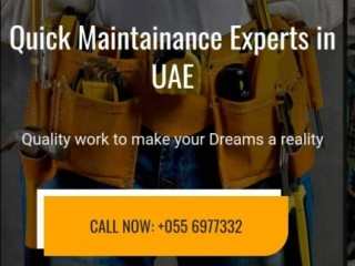 Property maintenance services uae