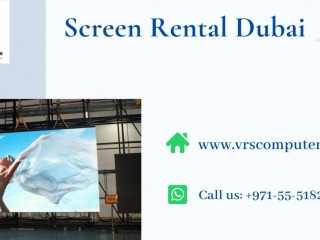 Leading Supplier of LED Screen Rentals for Events in Dubai