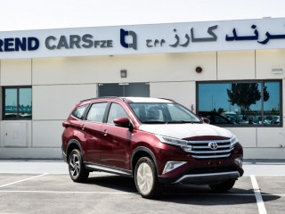 2020 TOYOTA RUSH 1.5L G AUTO PETROL RED W BLACK