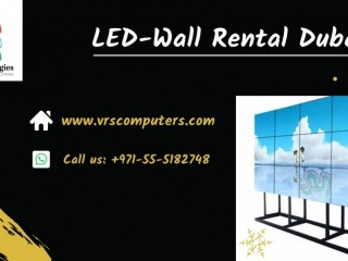 Indoor and Outdoor Seamless Video Wall Rentals in Dubai