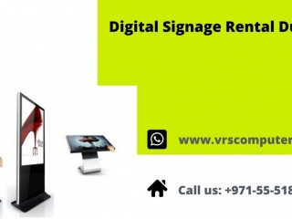 Hire Latest Digital Signage Rental Services in Dubai