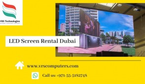 Indoor LED Display Screen Rentals for Events in Dubai
