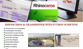 Rhinoceros with Grasshopper for Parametric designing and modelling