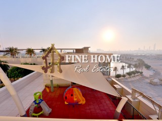 Lake View | Vacant 3BR w/ Maids Rm + Balcony