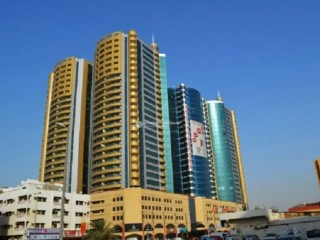 Studio Apartment for Rent in Horizon Tower - Ajman Downtown