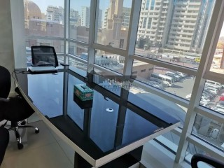 Fitted Office for Rent in Port Saeed, Deira, Dubai