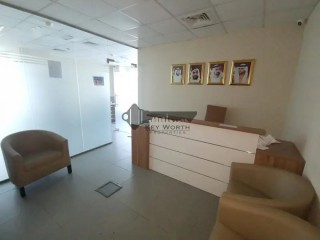 Super luxurious standard and high class fitted Office ready to move Opposite Deira city center