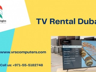 Innovative LED & LCD TV Rental Near Me in Dubai