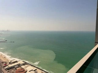 1BHK FOR RENT IN CORNICHE TOWER | Free AC | Free Maintanance | Full sea view