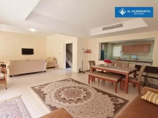 Fully Furnished Three Bedroom Villa for Rent in The Townhouses at Al Hamra Village - Ras Al Khaimah